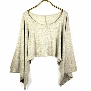 Eileen Fisher Cropped Batwing Top